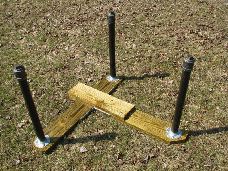 Homemade Portable Shooting Benches