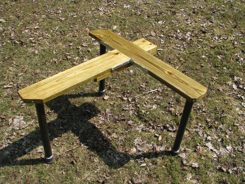 Thread: Home-Made Shooting Bench [Many Photos]